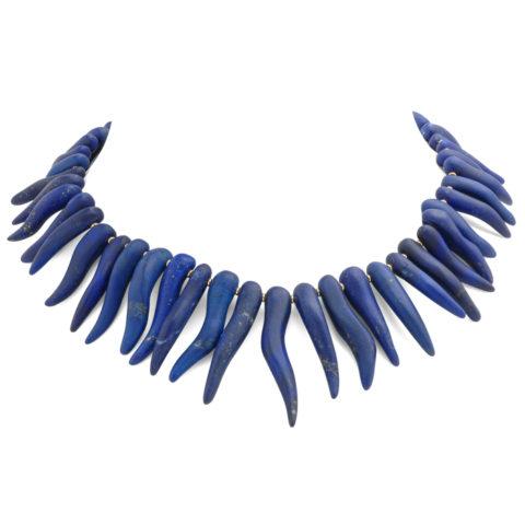 Fantasie collier lapis lazuli voor