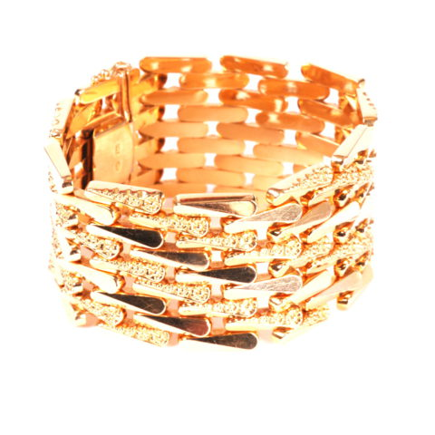 Geelgouden armband occasion