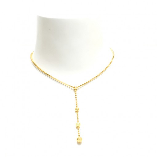 Balletjes collier