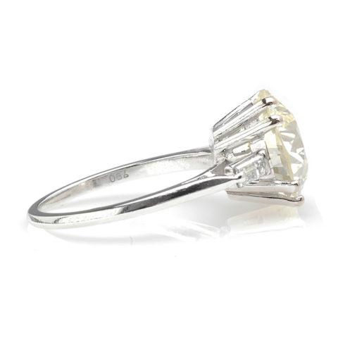 Luxe witgouden ring zij