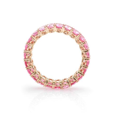 Alliance ovale roze spinel zij